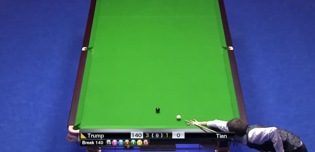 Video: Judd Trump's maximum break