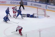 Video: KHL goalie Mikko Koskinen performs save-of-the-year candidate