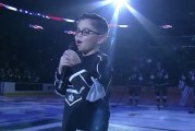 Video: 8-year-old blind boy sings the US national anthem in LA Kings game