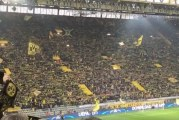 Video: Dortmund and Monaco fans Never Walk Alone