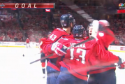 Vrana's hat trick boosts Capitals to victory against Flames