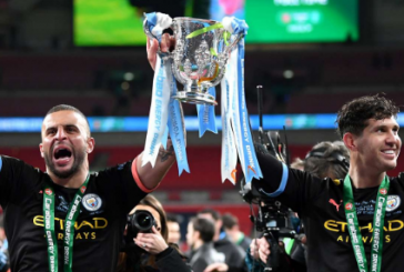 Manchester City wins third consecutive Carabao Cup